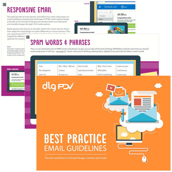 DLG and PDV's Email Best Practice Guide